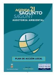 PLAN DE ACCIÓN LOCAL - Ayuntamiento de Sagunto