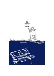 Bedienungsanleitung Laufband - Horizon Fitness