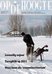 Levendig najaar Terugblik op 2011  Onze baan als - Hooge ...