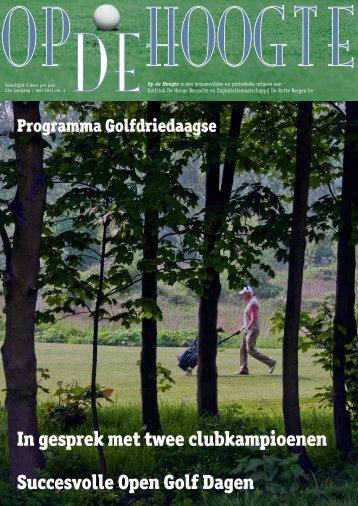1: mei - Hooge Bergsche Golfclub
