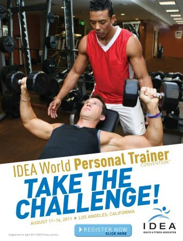 Supplement to April 2011 IDEA Fitness Journal