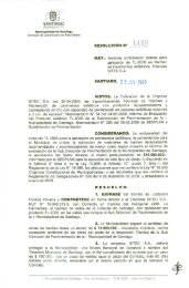 1122 - Intranet Municipal - Municipalidad de santiago