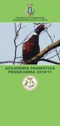 Accademia faunistica - Provincia di Pordenone