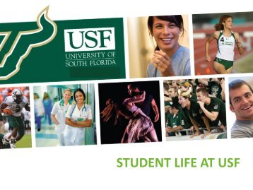 STUDENT LIFE AT USF