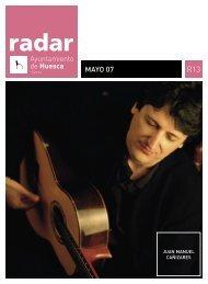 Radar, mayo 2007 - Ayuntamiento de Huesca