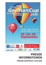 Pressegespräch 19.09.2008 - Wirtschaft und Stadtmarketing ...