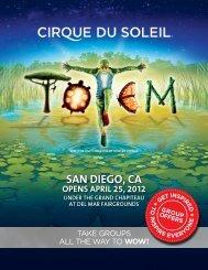 OPENS APRIL 25, 2012 - Cirque du Soleil