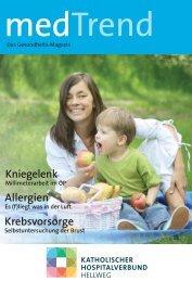 medTrend Mai 2010 - Katholischer Hospitalverbund Hellweg