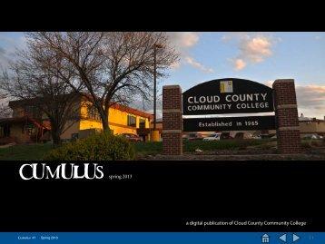 Cumulus #1, 2013 - Cloud County Community College