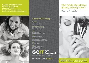 Beauty therapy salon brochure (PDF, 1.6MB)