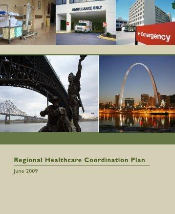 Regional Healthcare Coordination Plan - St. Louis Area Regional ...