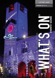 Inverno 2012 - Anno 8 numero 4 - Comosmagiclake.com