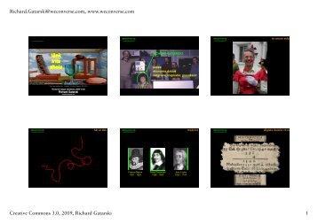 (Microsoft PowerPoint - gatarski_rinman_2009-10 ... - Richard Gatarski