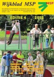 Wijkblad St. Wijkbeheer MSP, ed. 4 2012 - Mijn MSP