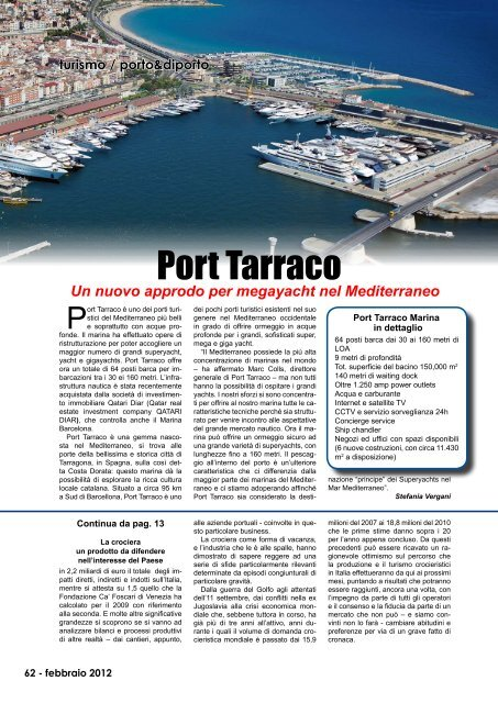 02_febbraio - Porto & diporto