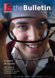 Feb 05 bulletin - University of the West of England