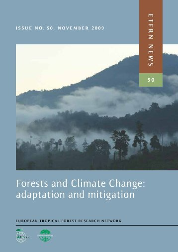 Forests and Climate Change: adaptation and mitigation - European ...