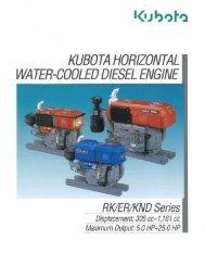 KUBOTA HORIZONTAL - Diesel Parts & Services