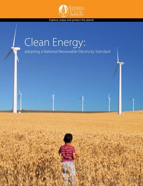 Clean Energy: - Sierra Club – Ohio Chapter