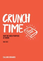WHY WE NEED PURPOSE AT WORK - The Drum