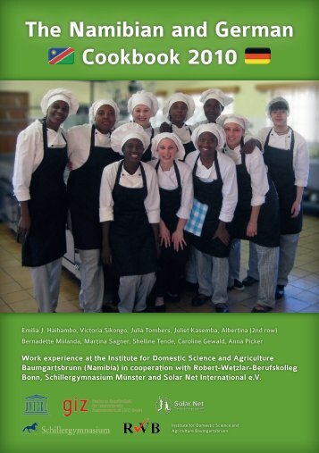 The Namibian and German Cookbook 2010