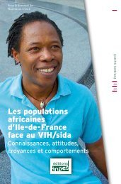 Les populations africaines d'Ile-de-France face au VIH/sida - Inpes