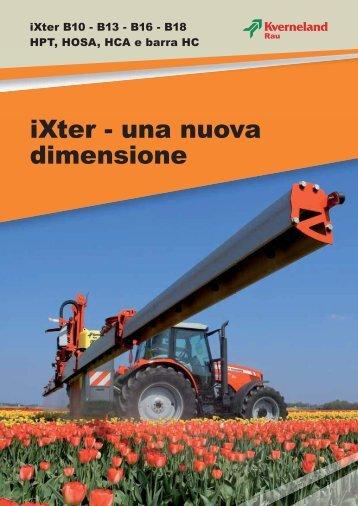 Kverneland macchine per il diserbo Ixter