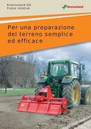 Kverneland Frese GS - Attrezzature Agricole