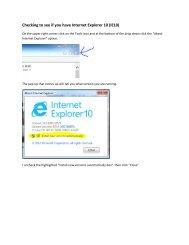How to uninstall Internet Explorer 10 for MIDAS - Northern Bridges