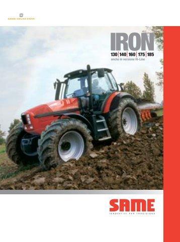 Trattori Same Iron 130-140-160 - Attrezzature Agricole