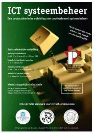 ICT systeembeheer - Instituut voor Permanente Vorming