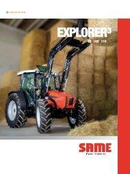 Trattori Same Explorer 85-100-110 - Attrezzature Agricole