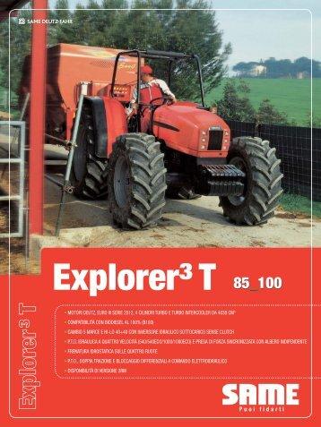 Trattori Same Explorer3t 85-100