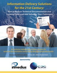 Information Delivery Solutions for the 21st Century - Military Systems ...