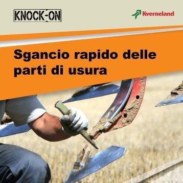 Kverneland Sgancio Rapido Knock-On