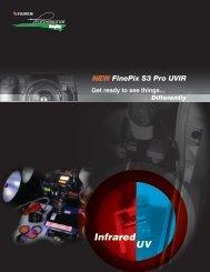 FinePix S3 Pro UVIR Brochure - Fujifilm USA