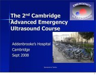 01+Introduction+and+.. - Emergency Ultrasound