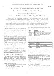 Extracting Approximate Biclusters/Patterns from Time Series Medical ...