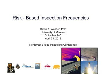 Risk - Based Inspection Frequencies - WSU Conference Management