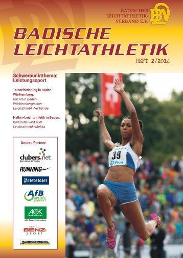 Badische Leichtathletik - Heft 2/2014