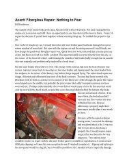 Avanti Fiberglass Repair - Studebaker-info.org