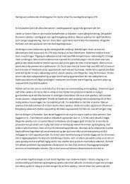 Uttalelse fra Overlegeforeningens foretakstillitsvalgt - Vestre Viken HF