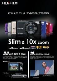 FINEPIX T400 - Fujifilm