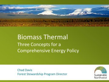 Biomass Thermal