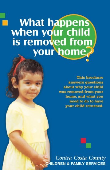 What happens when your child is removed from your home - CWDA