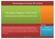 here - Genealogical Society of Ireland
