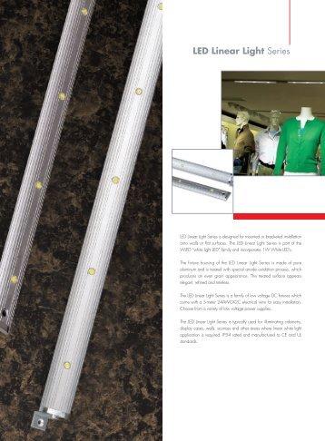 LED Linear Light Series - Raumfabrik - Weil