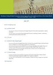 Programme Linkin Multiple Perspectives - Berlin Graduate School ...