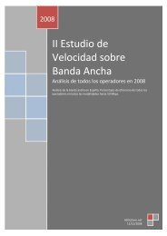 II Estudio de Velocidad sobre Banda Ancha - ADSL Zone