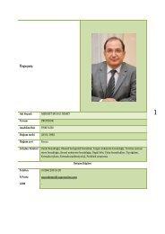 Prof.Dr.Murat Demet - Celal Bayar Üniversitesi Tıp Fakültesi